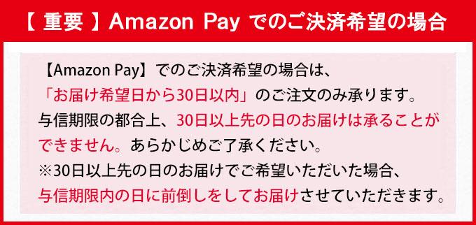 AmazonPayでのご決済希望の場合