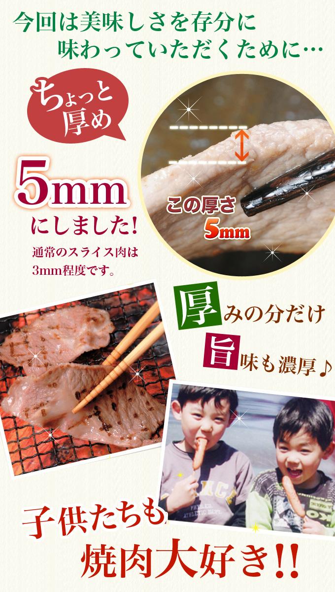 厚切り焼肉セット